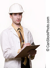 Young man engineer