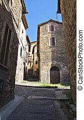 Alleyway Ronciglione Lazio Italy