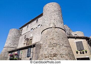 Anguillara castle. Ronciglione. Lazio. Italy.