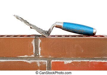 牆, 新, 磚, 修平刀