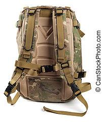 militär, Ryggsäck, Kamouflage