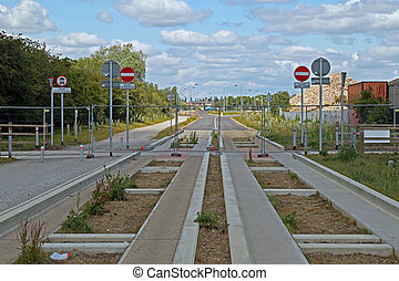 The Cambridgeshire guided bus way,