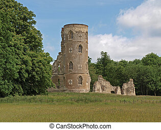 The Folly at Wimpole Hall was built in 1768 by Capability...