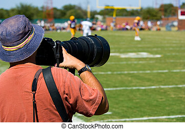 Professional Sports Photogapher - american football -...