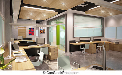 The office series : workshop - Office design department....