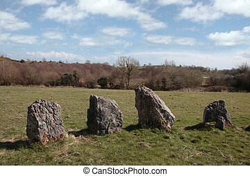 ancient stones 3 - ancient standing stone monuments in...