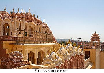 Hawa Mahal, Jaipur - Hawa Mahal, the Palace of Winds,...