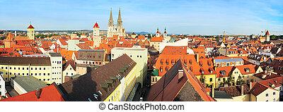 Regensburg - Old Town of Regensburg - UNESCO World Heritage...