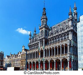 Kings House on Grand Place, Brussels, Belgium