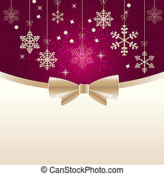 Abstract beauty Christmas and New Year background vector...