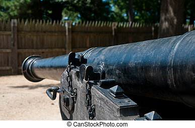 Canon inside a Fort