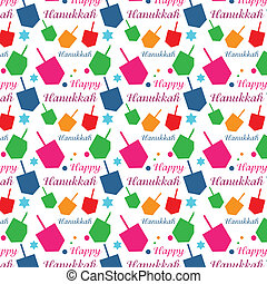 vector illustration of Hanukkah - Hanukkah colorful...