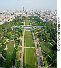 Paris beautiful places - Champ de Mars France