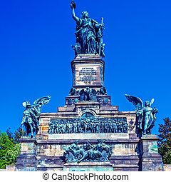 Niederwald Monument, Ruedesheim on Rhein - Niederwald...