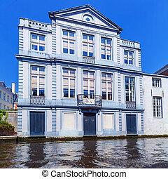 Dijver canal, Bruges, Belgium