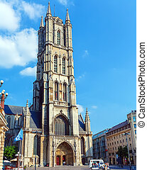 Saint Bavo Cathedral, Ghent, Belgium - Saint Bavo Cathedral...