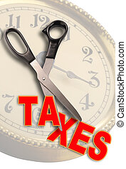 Cute Taxes, - Time to cut taxes.