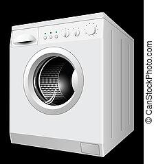 New white washing machine