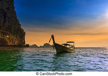 Thailand tropical nature beautiful landscape. Sea cost...