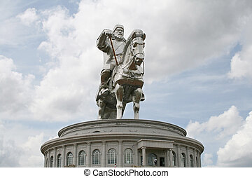 Genghis khan s monument