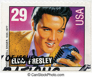 USA - 1993: shows Elvis Presley, American Music Series -...