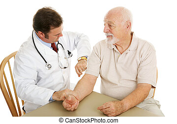 Senior Medical - Checking Pulse