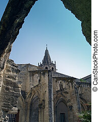Avignon, France - Temple Saint Martial at Square Agricol...