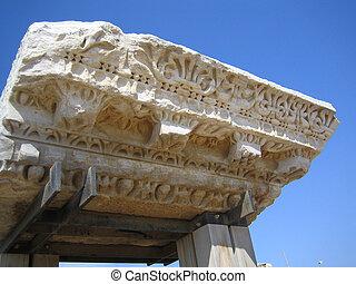 Detail of roman frieze