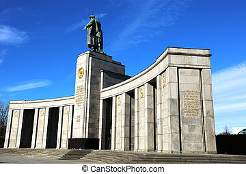 Soviet War Memorial Berlin - the Soviet War Memorial is...