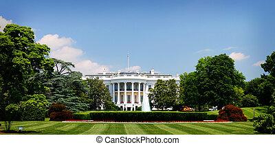 White House in Washington, D.C. USA