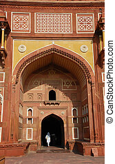 Jahangiri Mahal in Agra fort, India