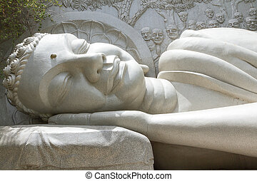 Sleeping Buddha, landmark on Nha Trang, Vietnam