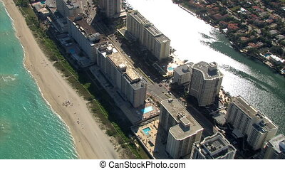 Miami Beach Aerials. - Aerials of Miami Beach and...