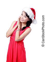Christmas Happy Girl