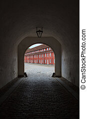 Passage to the city - An old passage leading to an old...