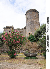 Castle of Borgia. Nepi. Lazio. Italy.
