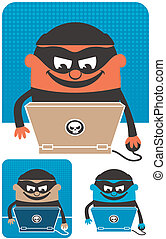 Computer Crime - Criminal using computer to commit crime The...