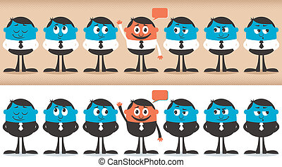 Volunteer - Conceptual illustration for volunteering. No...