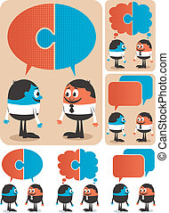 Cooperation - Conceptual illustration for cooperation It is...