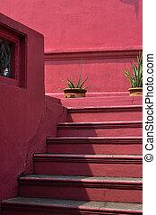 Dutch Red Stair in Melaka