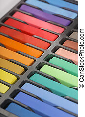 Pastels - New artist's soft pastels in different colors.