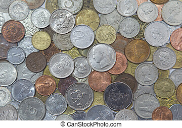 World Coins - Various coins around the world