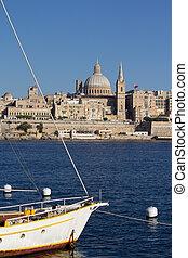 Valletta, Malta - Valletta, the capital of Malta.