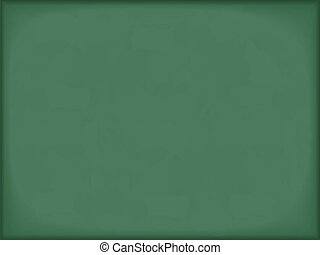 Green horizontal blackboard background