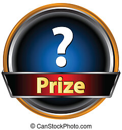 Prize logo located on a white background