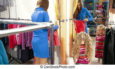 Shopping For Girls Clothes