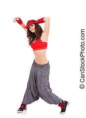 woman dancer posing