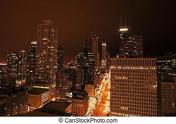Michigan Avenue in Chicago