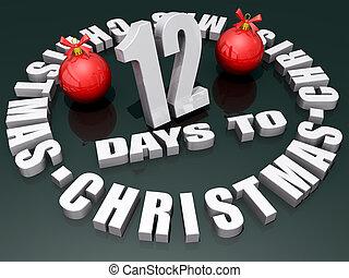 navidad,  12, días