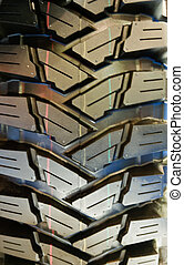 Tires for four wheel drive vehicles